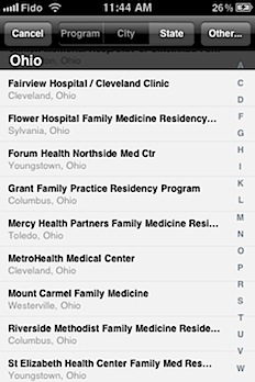 Post image for Residency Rater helps family medicine-bound medical students choose a residency