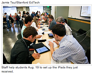 Post image for How Stanford Medical Students are using their school issued iPads