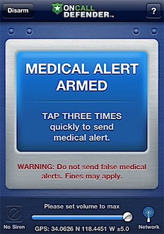 Post image for Medical alert bracelets – now inside your phone