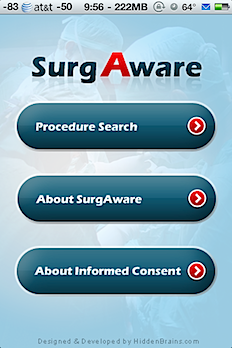 Post image for SurgAware aims to empower patients by increasing transparency of informed consent [iPhone app review]