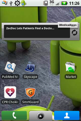 Post image for Dear Google: please make a medical category for apps in the Android Marketplace