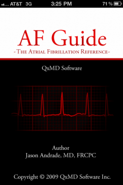 Post image for QxMD's A-Fib Reference App: Master the management of Atrial Fibrillation