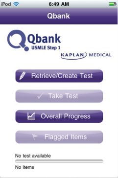 Post image for Kaplan's USMLE Step 1 Mobile Qbank app is the first to sync with your desktop