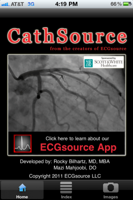 Post image for CathSource app brings cardiac catheterization to life with videos and images on the iPhone & iPad