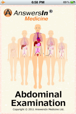 Post image for Master the abdominal exam with a new medical app from Answers in Medicine
