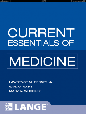 Post image for Current Essentials of Medicine offers essential disease information, but at a non-essential price
