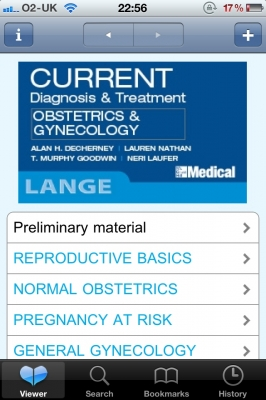 Post image for CURRENT Obstetrics & Gynecology medical app is a comprehensive guide to OB/GYN