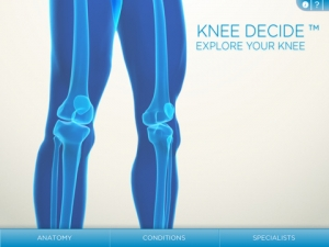 Post image for Educating patients on knee surgery with a medical app