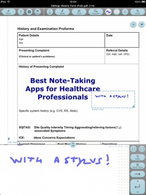 Post image for The best iPad note taking apps to use with stylus pens