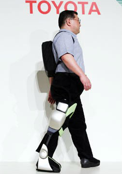 Post image for Toyota robotic technology aimed at helping patient's ambulate and rehab quicker