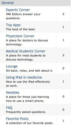 Post image for iMedicalApps launches forum for mobile medical community, giving away free apps