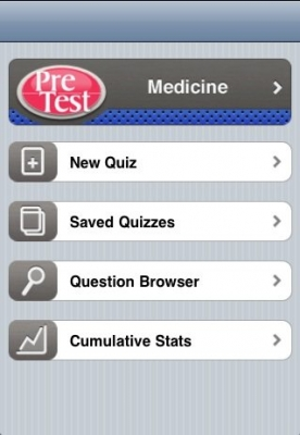 Post image for For Internal Medicine Students, the Pretest Medicine App Serves as a Useful Review