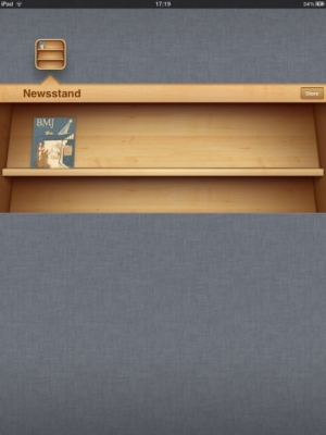 Post image for The First Academic Journal on Apple's Newsstand is a Medical One