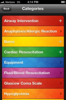 Post image for Pedi STAT app is a quick drug dose reference for pediatric emergency and critical care