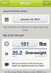 Post image for AMA weight loss app links patients and physicians to achieve healthy goals
