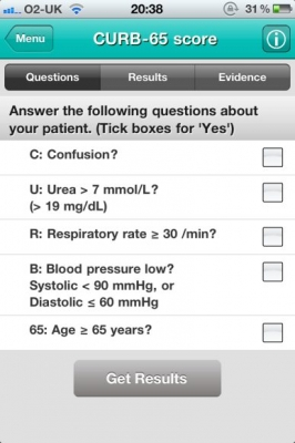 Post image for Doctor's Toolbag app is an excellent evidence based clinical decision support tool