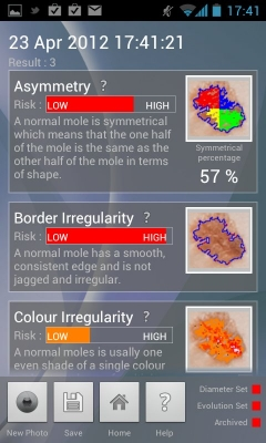 Post image for Medical app uses augmented reality and camera phone to detect skin cancer