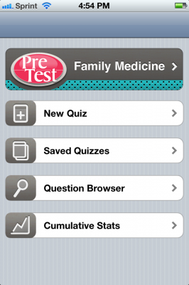 Post image for Pretest Family Medicine app is a comprehensive review for medical students