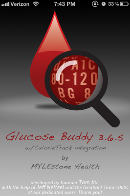 Post image for Evaluation of Glucose Buddy app as diabetes monitoring tool for patients and clinicians