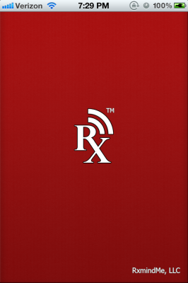 Post image for RxmindMe app review, a simple medication reminding tool for patients