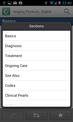 Post image for 5 Minute Clinical Consult app for Android is a great resource