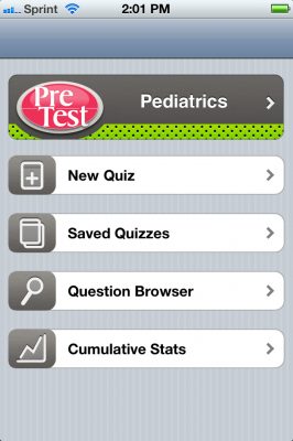 Post image for Pretest Pediatrics is an essential high yield review app for board prep