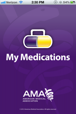 Post image for My Medications is a simple tool for patients to record their medications, immunizations, and allergies