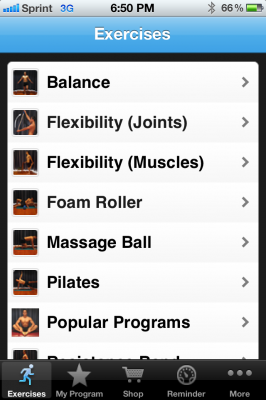 Post image for Physioadvisor is an app for carrying out physical therapy exercises at home