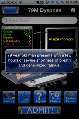 Post image for Resuscitation is an engaging interactive patient simulation resus game app