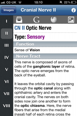 Post image for Simple app makes learning cranial nerve pathology easy