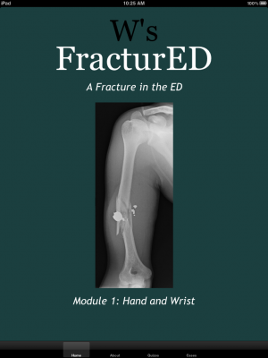 Post image for FracturED iPad app is moving mobile medical education in the right direction