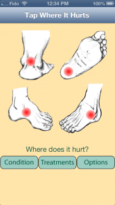 Post image for Heel Thy Tendon app is limited in its coverage of foot conditions