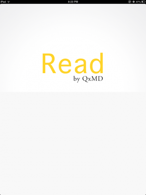 Post image for The Flipboard for medical journals has arrived, Read by QxMD