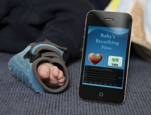 Thumbnail image for Wireless baby socks created to prevent SIDS are actually not recommended by the AAP