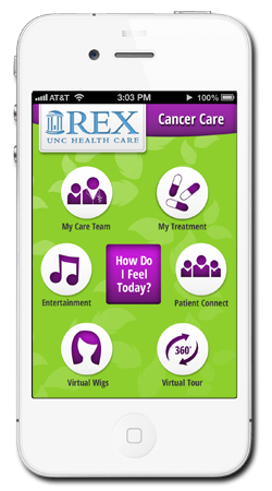 Post image for Rex Healthcare develops mobile app to personalize cancer treatment
