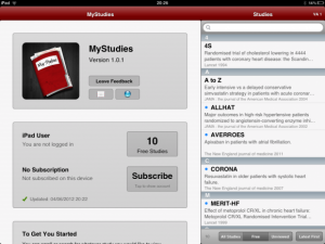 Post image for MyStudies literature app with holiday subscription sale of $1