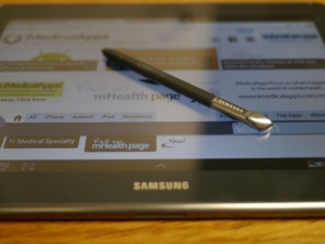 Post image for The stylus and medicine, Samsung Galaxy Note 10.1 Review