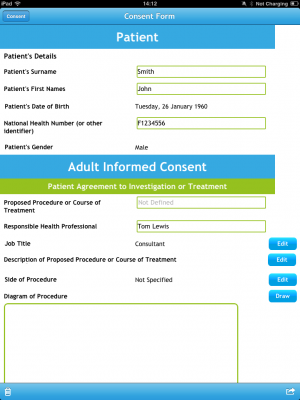 Post image for Medical Consent app is a great idea but raises controversial security implications
