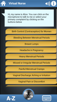 Post image for Virtual Nurse – Birth Control for Android can sort general questions but needs more work