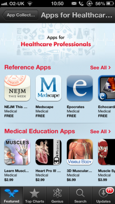 Post image for Apple launches dedicated &#8216;Apps for Healthcare Professionals&#8217; collection
