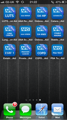 Post image for UK NHS launches 12 patient decision support apps