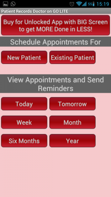 Post image for EMR on your Android phone with Patient Records Doctor ON GO