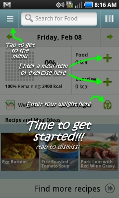 Post image for Calorie Counter for Android is simple, convenient, and visually helpful