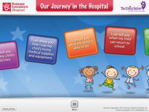 Post image for The Our Journey in the Hospital app helps parents with children in the hospital