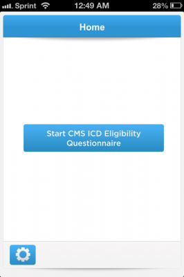Post image for CMS ICD app enables you to quickly assess if your patient's defibrillator will be covered by insurance