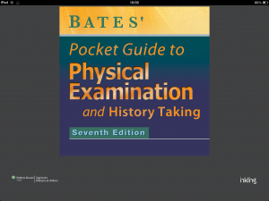 Post image for Bates' Pocket Guide to Physical Examination and History Taking text becomes an app for your iPhone & iPad