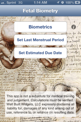 Post image for Fetal Biometry medical app is great for Obstetricians in resource limited settings