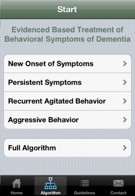 Post image for U of Illinois creates evidence based app that enables you to assess if your patient has dementia