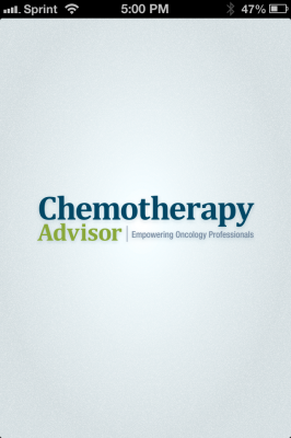 Post image for Chemotherapy Advisor medical app is one stop shop for medical oncology