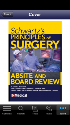 Post image for Schwartz's Principles of Surgery ABSITE and Board Review app ideal preparation for surgical exams